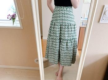 【秋のプチプラ】BIRTHDAY BASHのスカートがかわいい