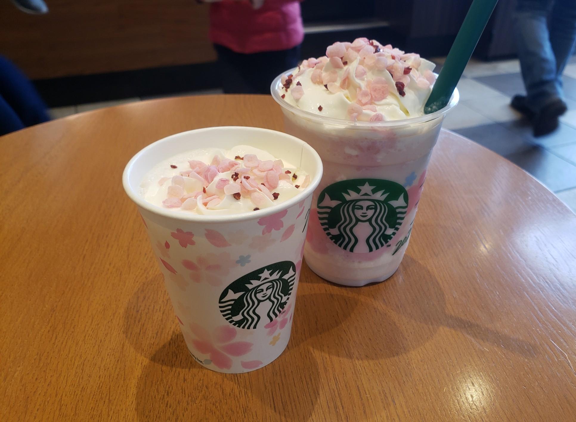 【スタバ《さくら》】ドリンクもマグカップもコーヒーもピンクでかわいいを紹介♡_2