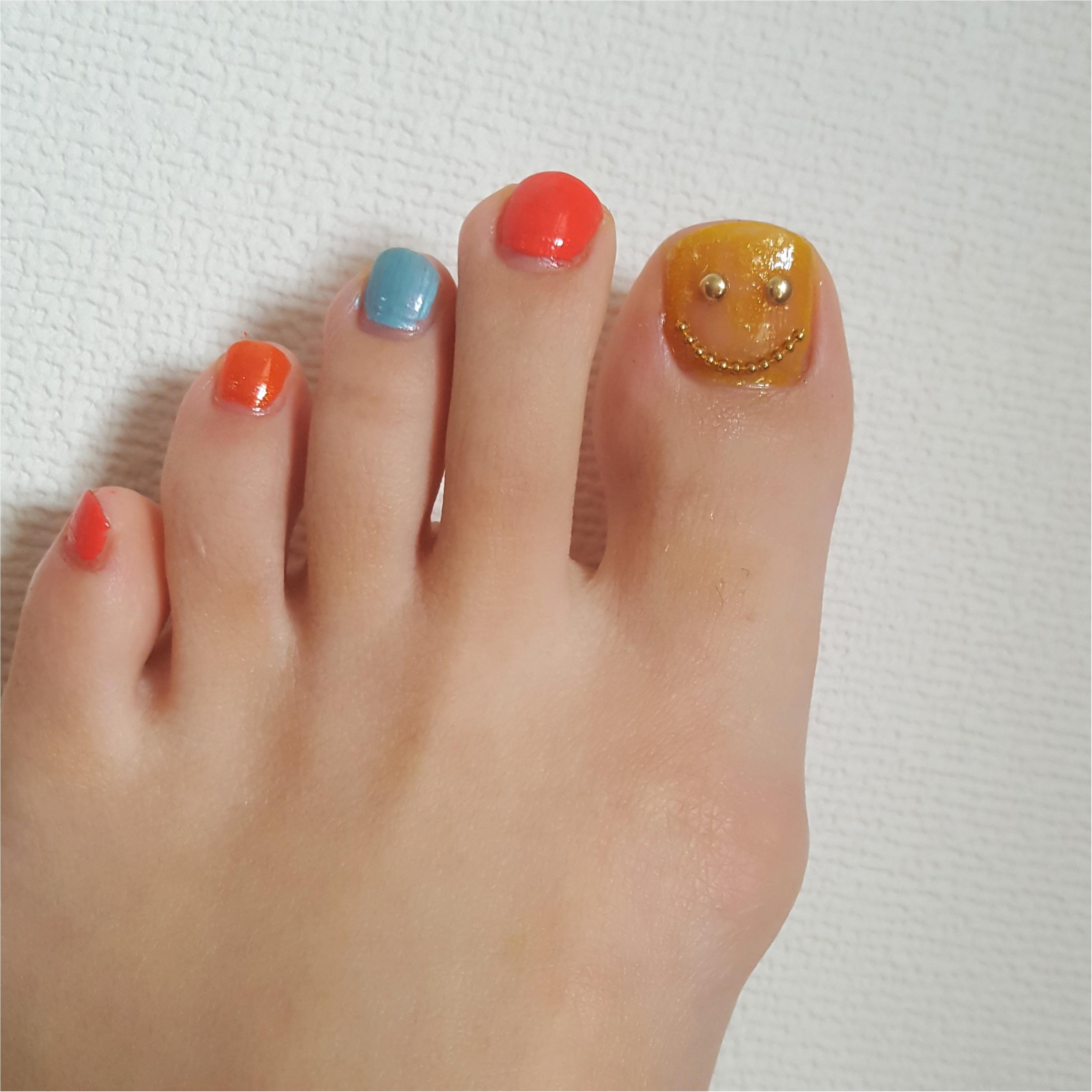 ウキウキGW☆ 足元は初夏の陽気~休日ネイル~_4