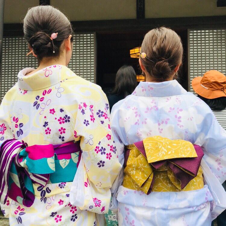 夏着物で鎌倉女子旅♡  紫陽花がとっても綺麗でした♡_14