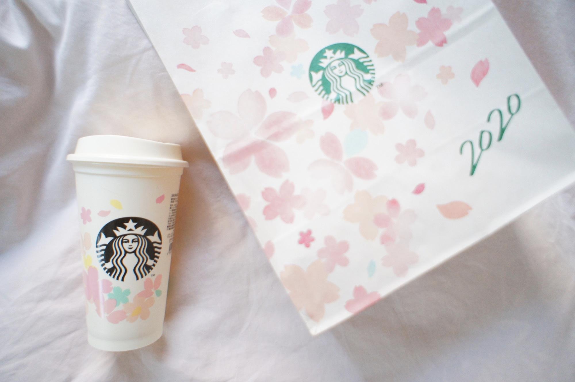 《繰り返し使える!値引もしてもらえる❤️》桜デザイン【スタバ】リユーザブルカップを買ってみました☻_1