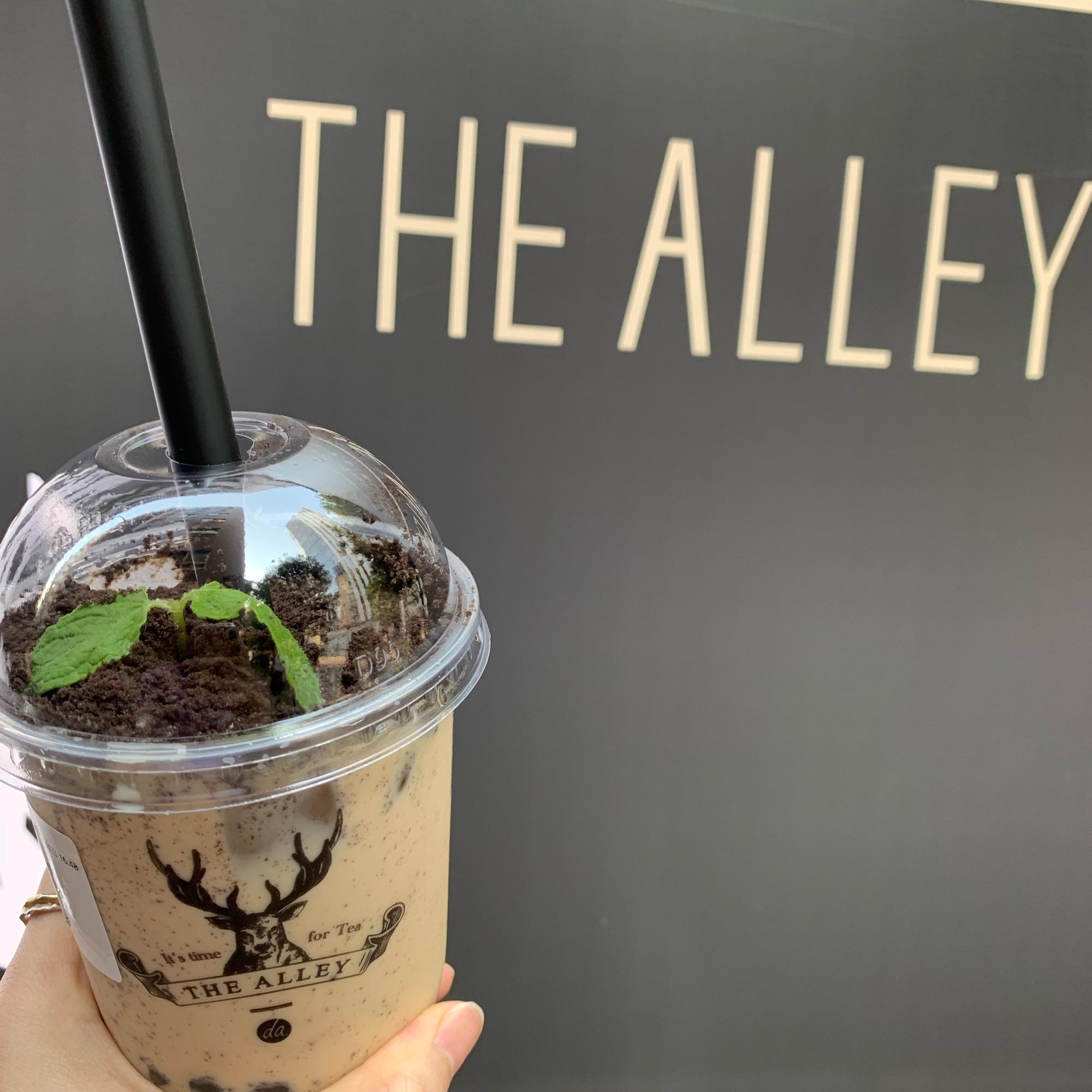 《写真映え❤️》【THE ALLEY(ジアレイ)】の盆栽タピオカミルクティーがおいしい☻_3