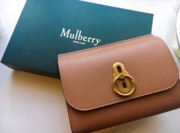 【20代女子の愛用財布】新しいお財布は憧れのキャサリン妃とお揃いに♡《Mulberry》のAmberley