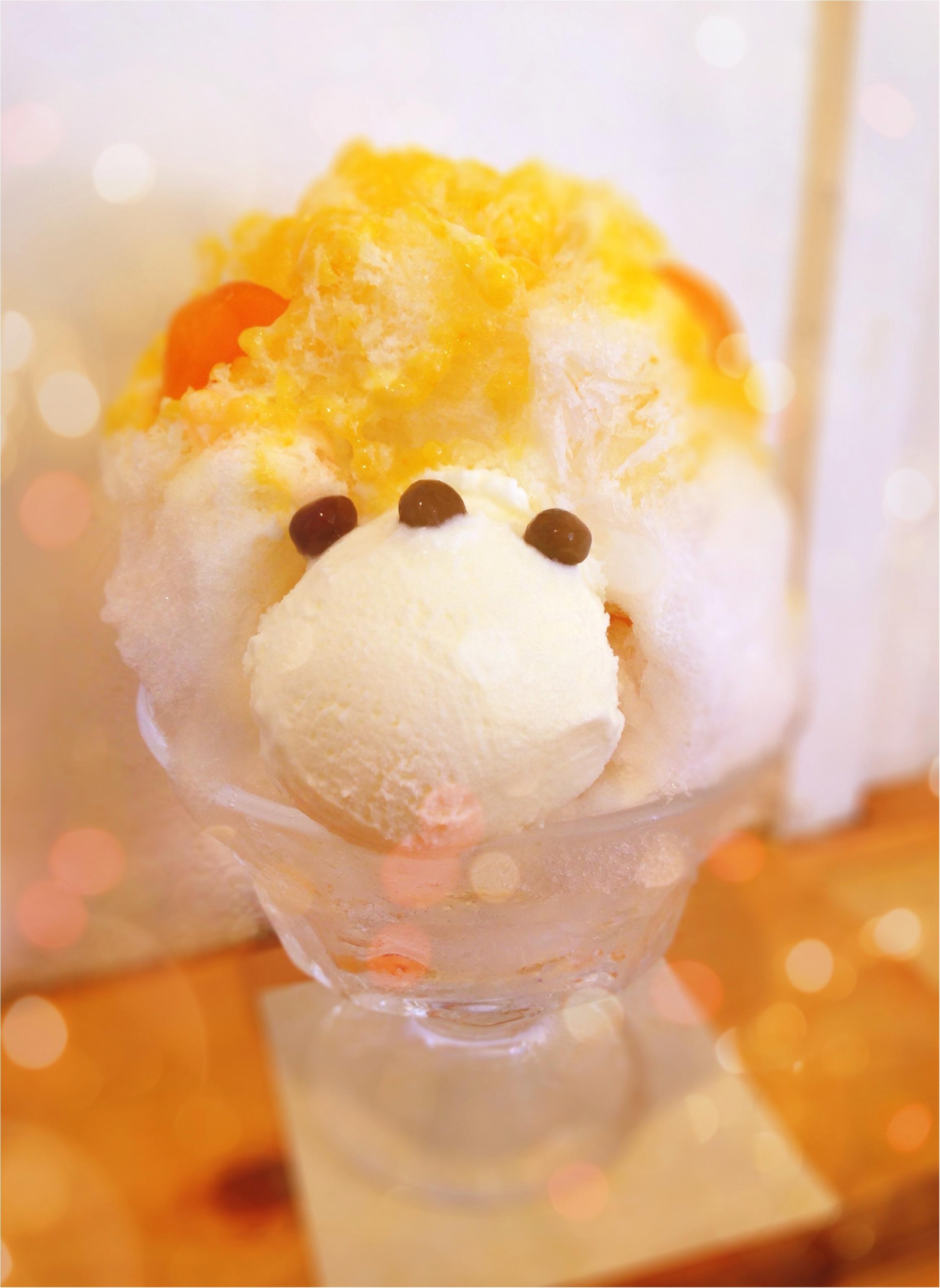 《恵比寿》可愛く美味しく癒される❤️ジャパニーズアイス櫻花の【くまさんかき氷】_1