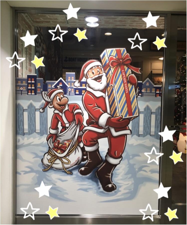 【クリスマスまであと5日!】クリスマスツリーでカウントダウン☆ アメリカンアンティークがかっこいい!キャプテンサンタツリー@アクアシティお台場_2