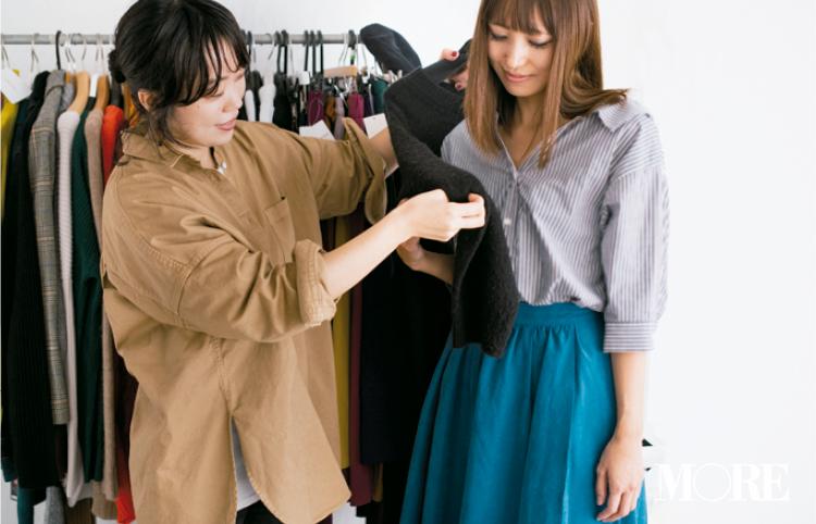 【読者変身】無難、甘すぎ、いつも同じ……きれい色スカートのお悩み、スタイリスト高野さんが解決します☆ 記事Photo Gallery_1_10