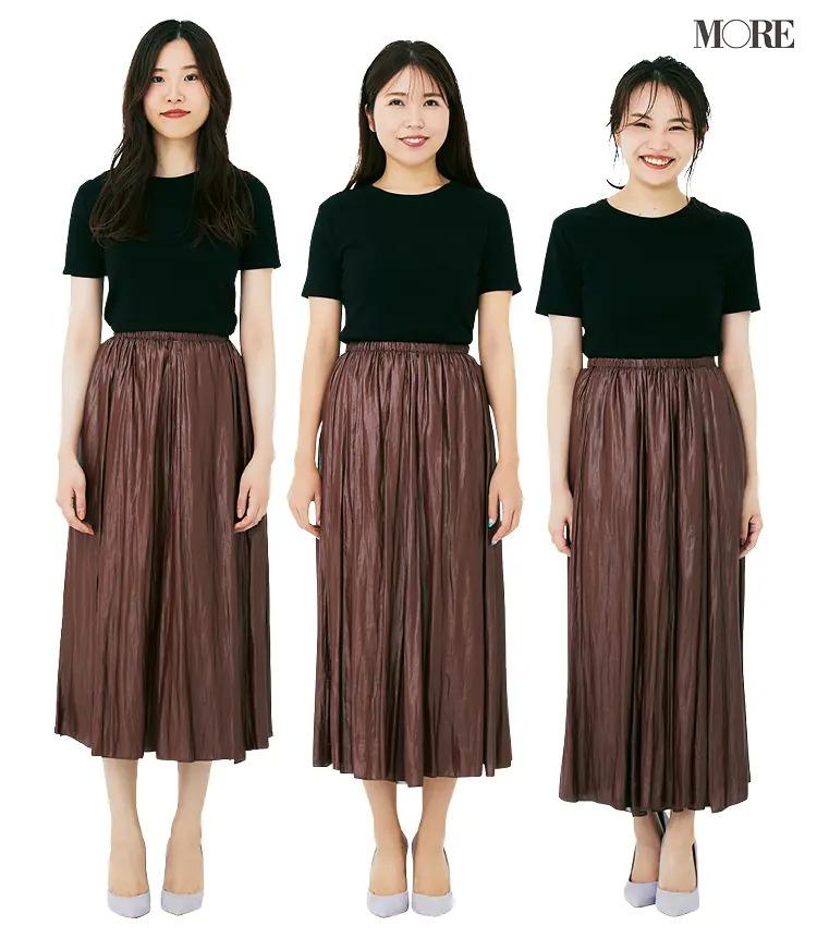体型別に読者が試着! ワンピ、パンツ、スカート、どのデザインが一番きれいに見える?PhotoGallery_1_3