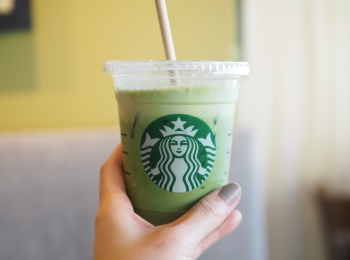 【スタバ新作】夏季限定!アイス抹茶ティーラテ×ほうじ茶デニッシュの組み合わせが完璧❃❃❃