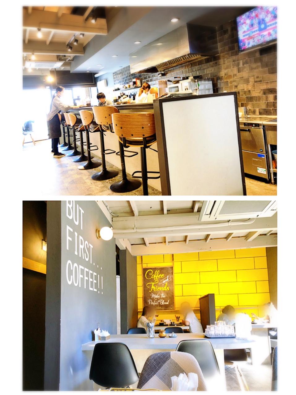 【#静岡】空色クリームソーダとふかふか3Dホットケーキ♡純喫茶風のモダンなカフェ《8COFFEE》_2