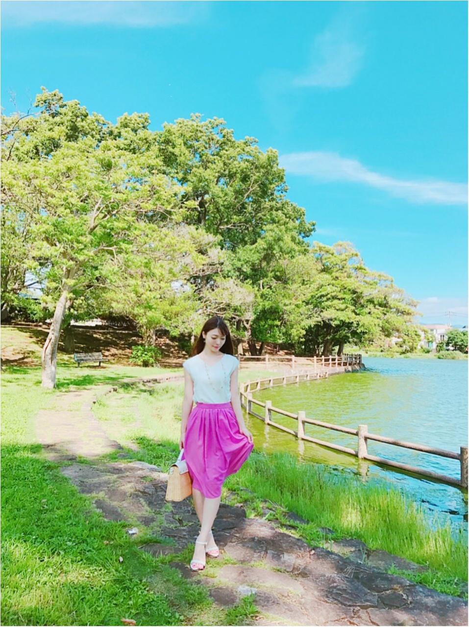 今流行りのカラースカート♡大人可愛く着るコツとは?٩(๑❛ᴗ❛๑)۶_4