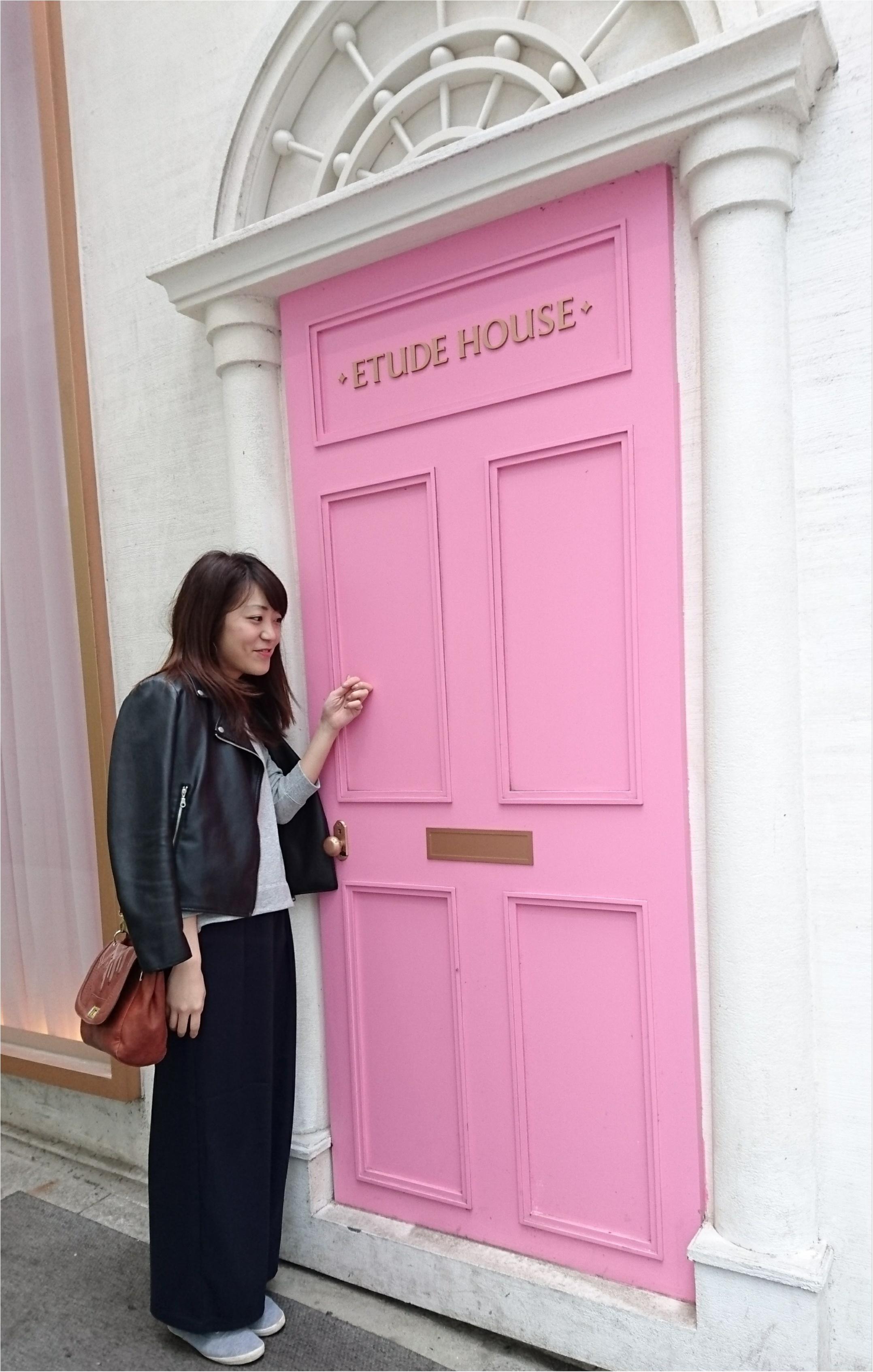 【trip】明洞で見つけたかわいすぎるETUDE HOUSE♡_3