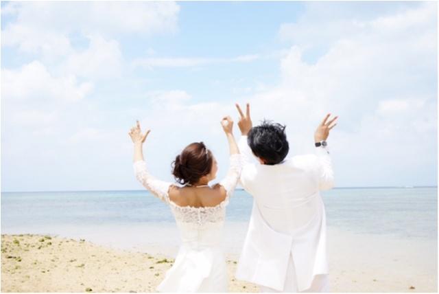 一生大切にできる素敵な写真を☆ 沖縄で結婚式の前撮りをしてきました_1