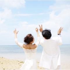 一生大切にできる素敵な写真を☆ 沖縄で結婚式の前撮りをしてきました