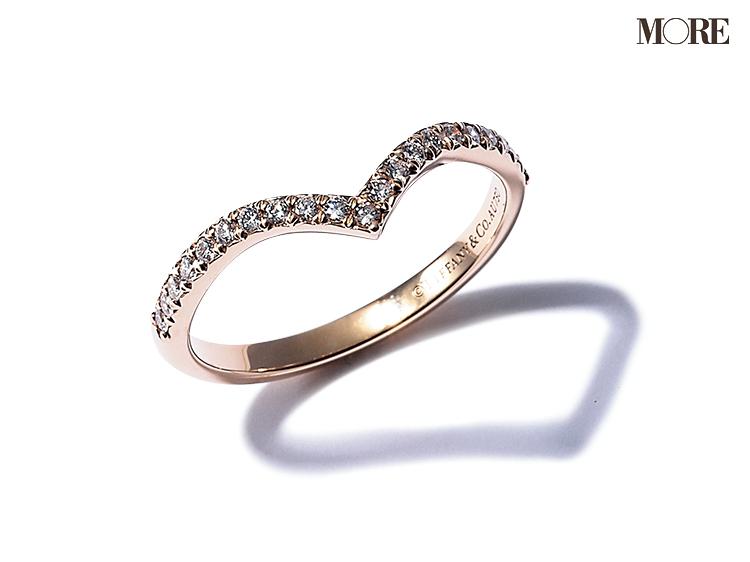 ティファニーの婚約指輪 ダイヤモンドリング