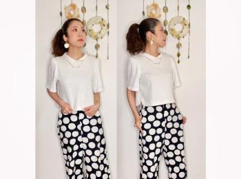 【オンナノコの休日ファッション】2020.7.8【うたうゆきこ】
