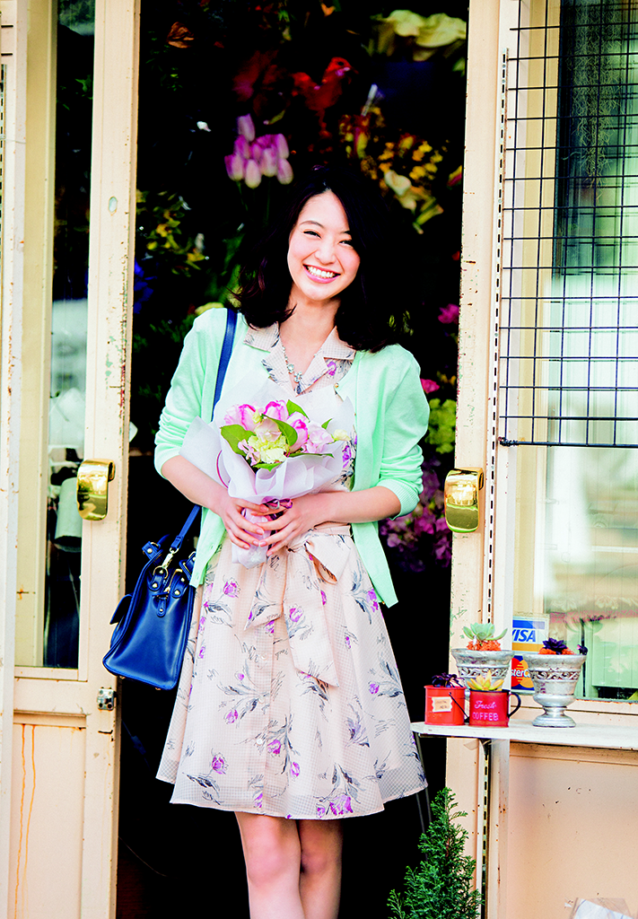 【今日のコーデ】春ワンピ主役の華やかコーデで恋が始まる予感♡_1