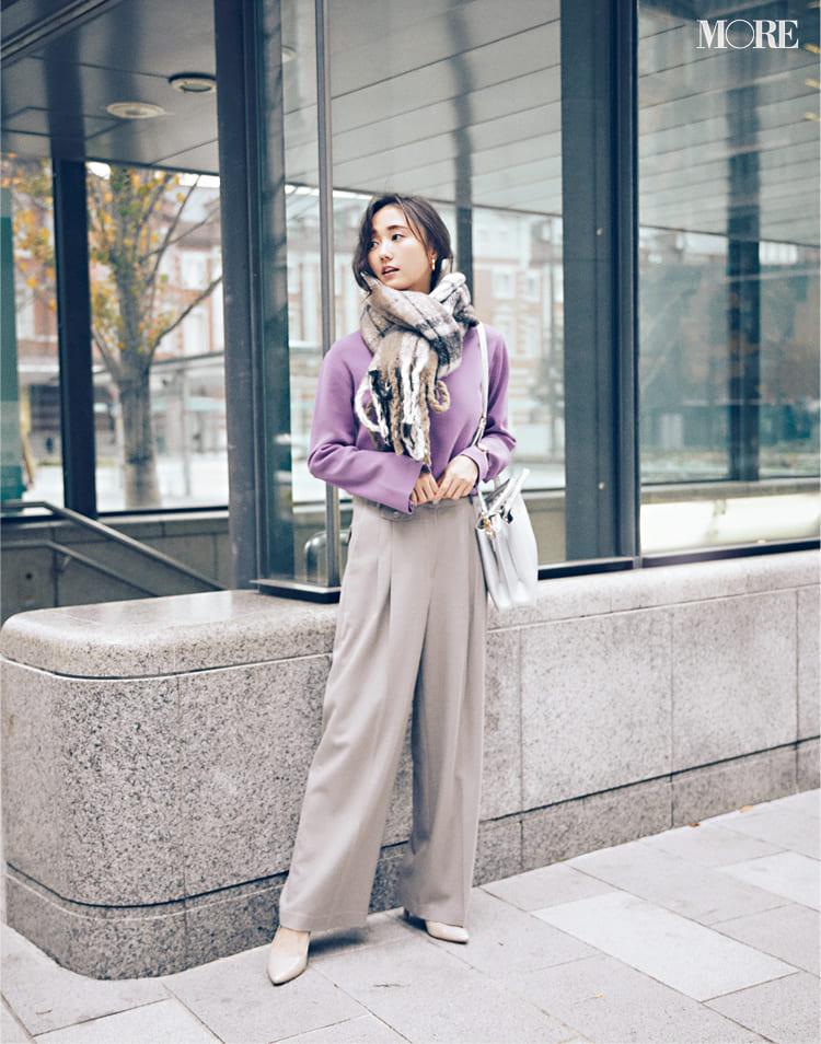 オフィスカジュアルのパンツ特集 - 20代女性におすすめブランドやおしゃれなレディースコーデまとめ | 2020年版_31