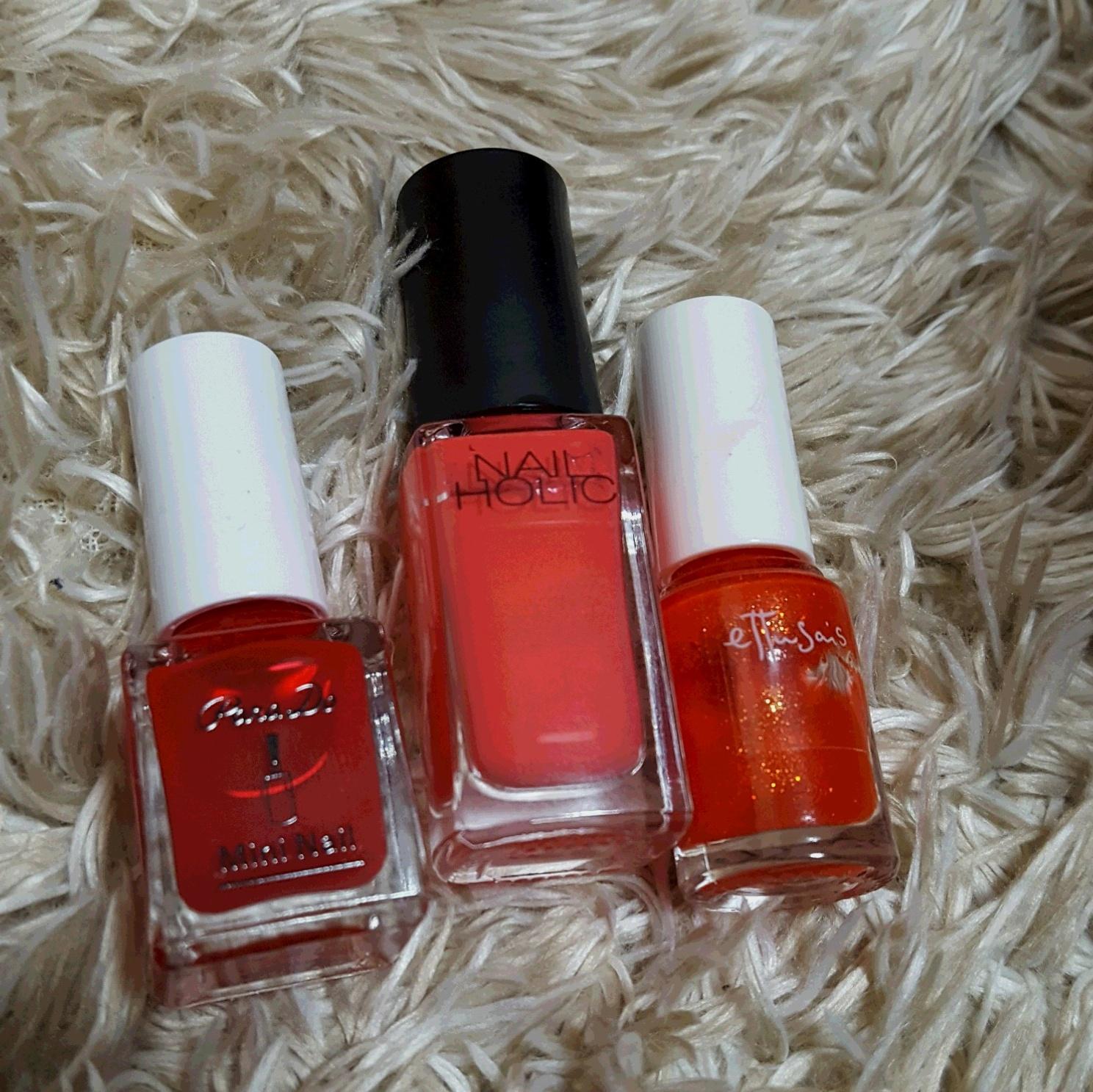 """足元が綺麗に見えるカラーはやっぱり""""RED"""" ~休日ネイル~_2"""