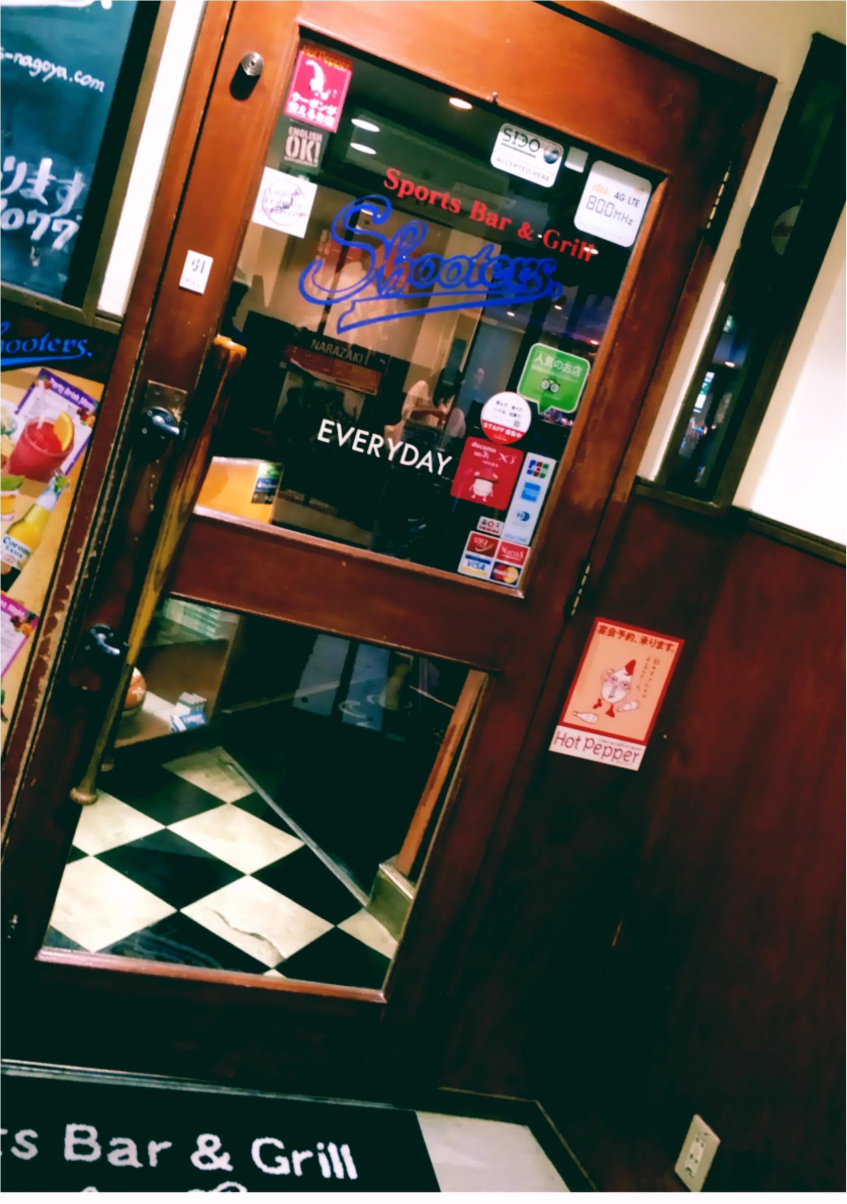 ★ドアをくぐれば…ここはアメリカ⁈名古屋のど真ん中でアメリカ気分を味わえるバーがあるんです☝︎★_2