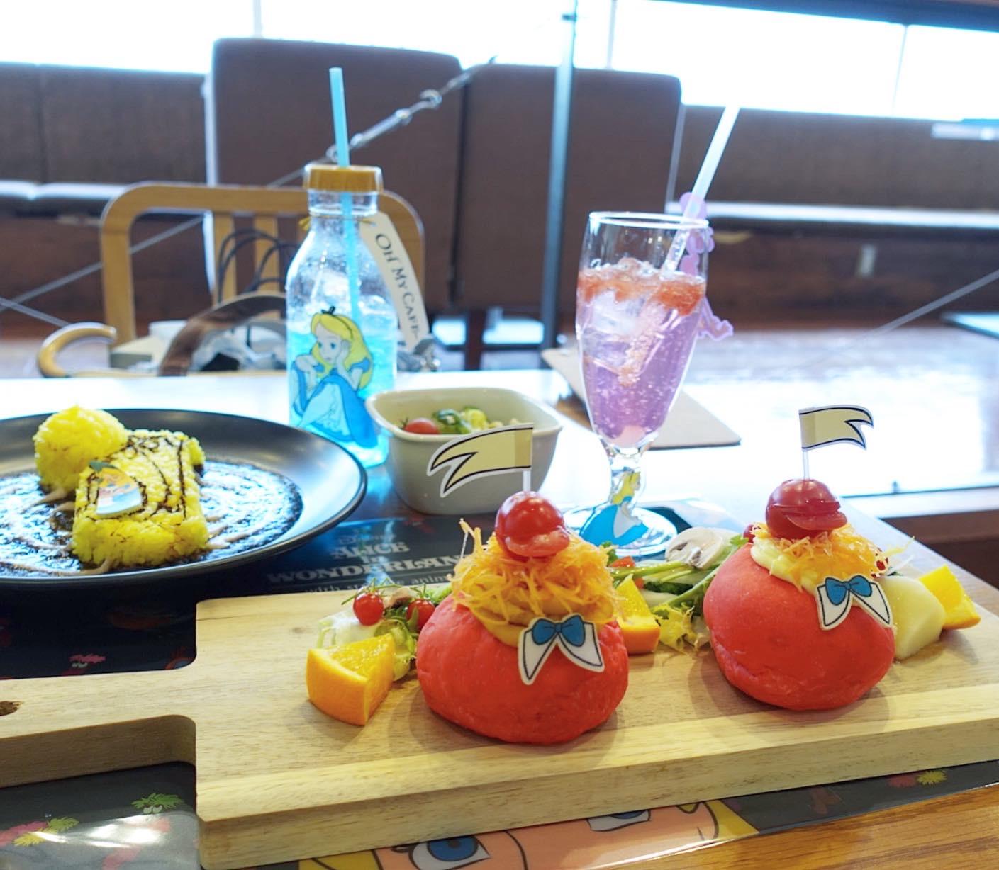 ふしぎの国のアリス好き必見!ふしぎの国のアリスカフェが大阪で開催中!ヘルシーメニュー満載の「OH MY CAFE」でアリスの世界観を堪能できちゃいます★_2