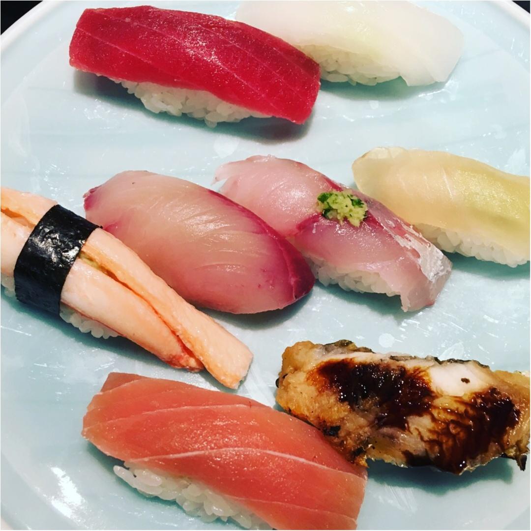 金沢といえば海の幸!近江市場で美味しいお寿司に舌鼓♡_1