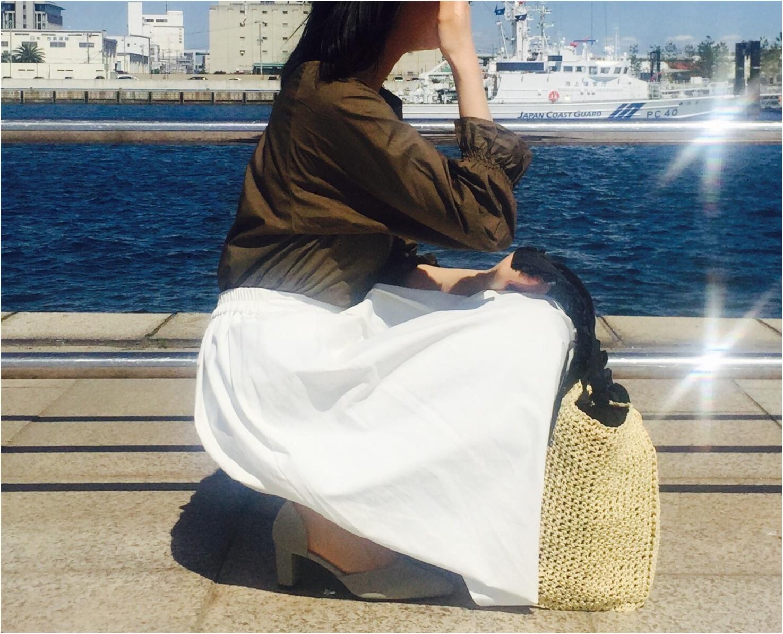 気温*25度!【GU×Te chichi】初夏を感じる日の快適コーデ!_3