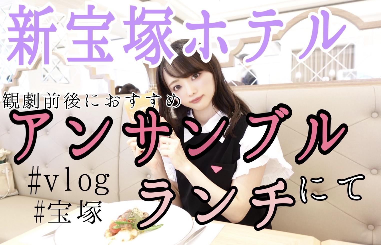 【宝塚】新宝塚ホテル『アンサンブル』でランチ!Vlogつき_1