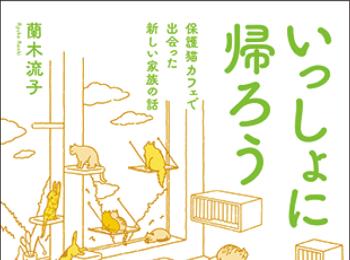 保護猫カフェで出会った人と猫の実話を短編にした『いっしょに帰ろう』【おすすめ本】