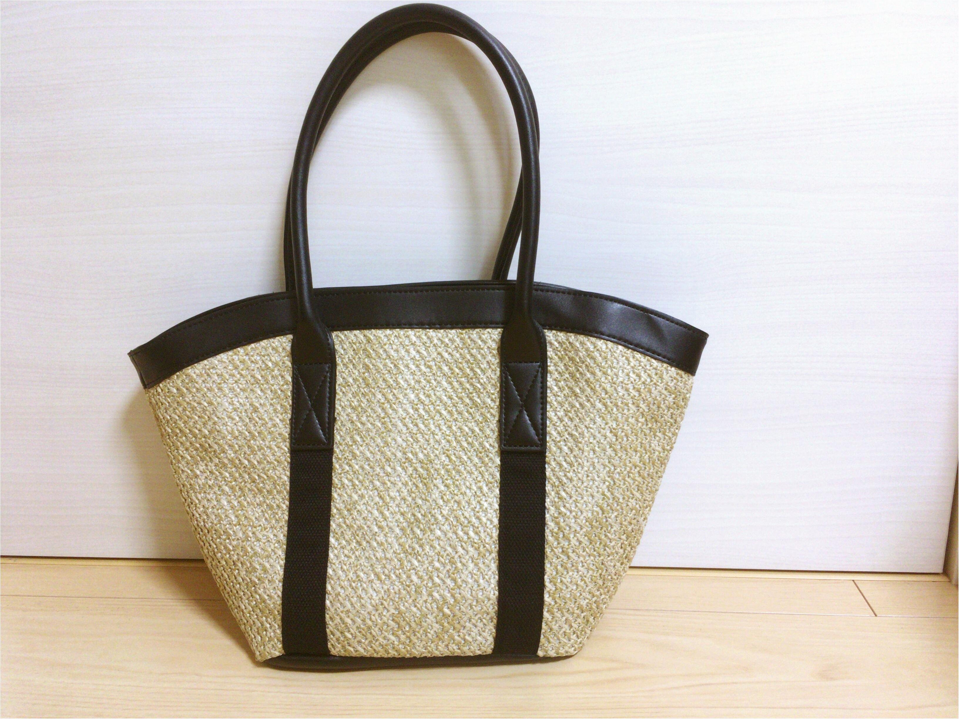 【SALE】990円!GU《カゴトートバッグ》可愛い♡夏ファッション必須アイテムをさらに安く♡_2