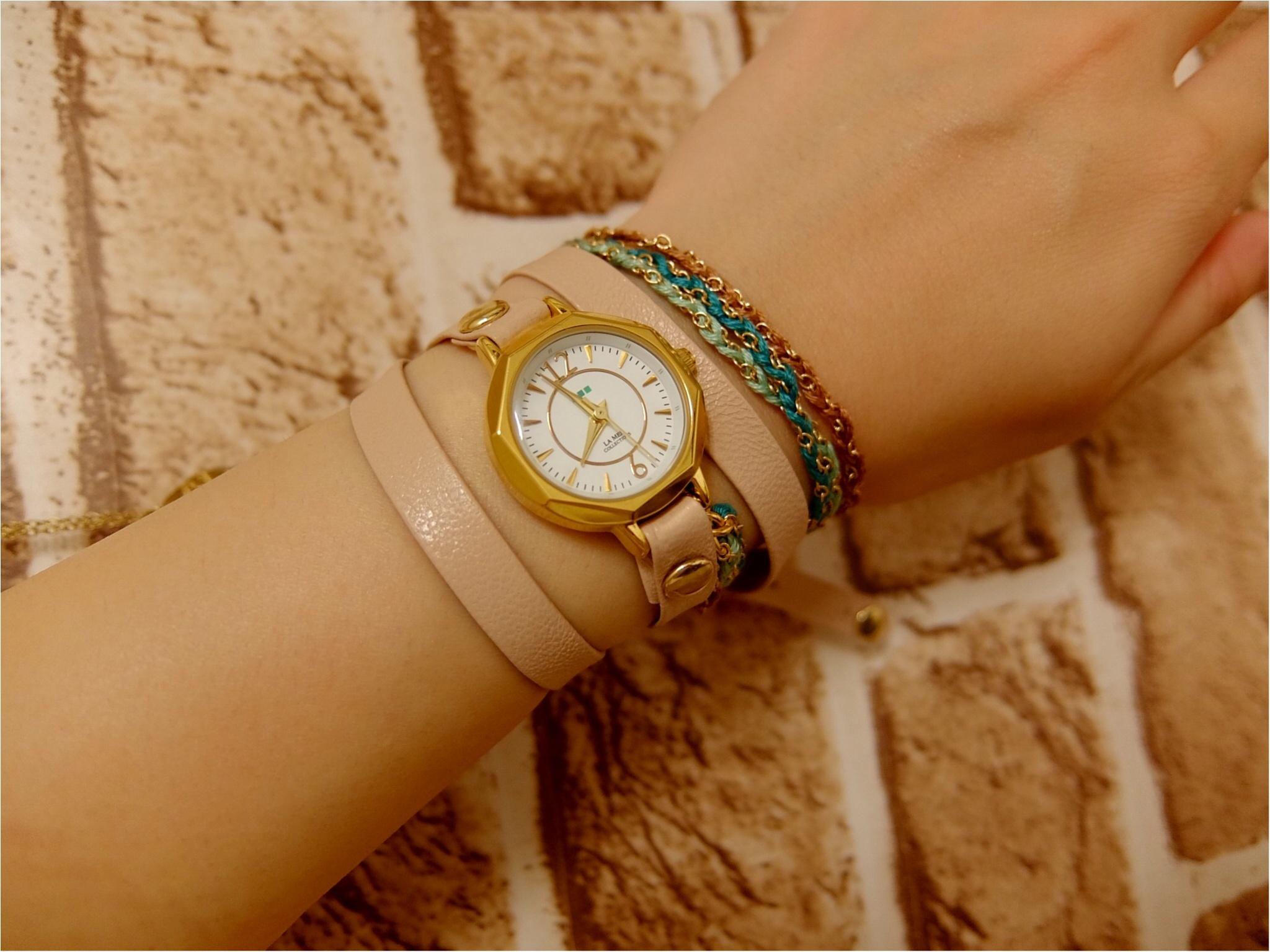 カジュアル好きにはたまらない♡【ラ・メール コレクションズ】の腕時計を買っちゃいました!_1