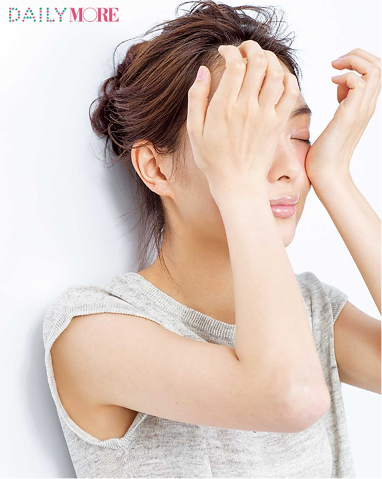 おどろきの小顔に♡ ヘア&メイク小田切ヒロの「別人級セルフコルギ」<ほお&えら編>_4