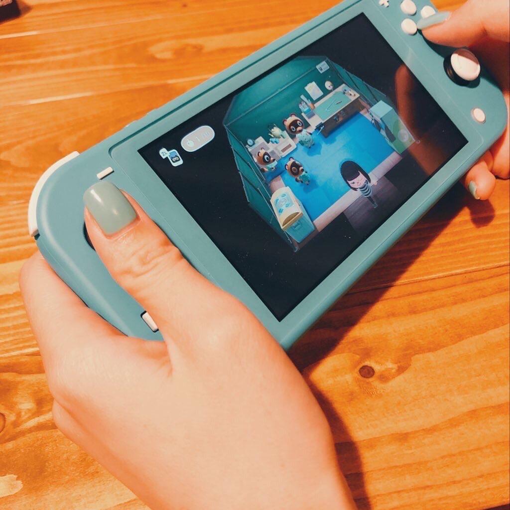 【OPIネイル】夏にぴったりのターコイズブルー♡Nintendo Switchとカラーマッチしちゃった!【過去ネイル紹介】_2
