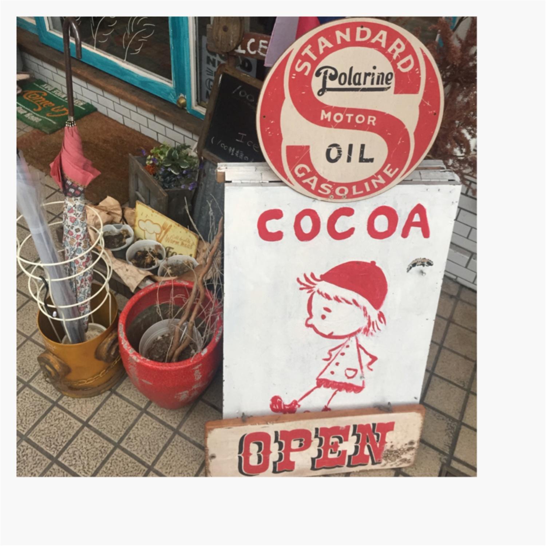 ♡ココア好きにはたまらない可愛いココア専門店に潜入しちゃいました♡_1