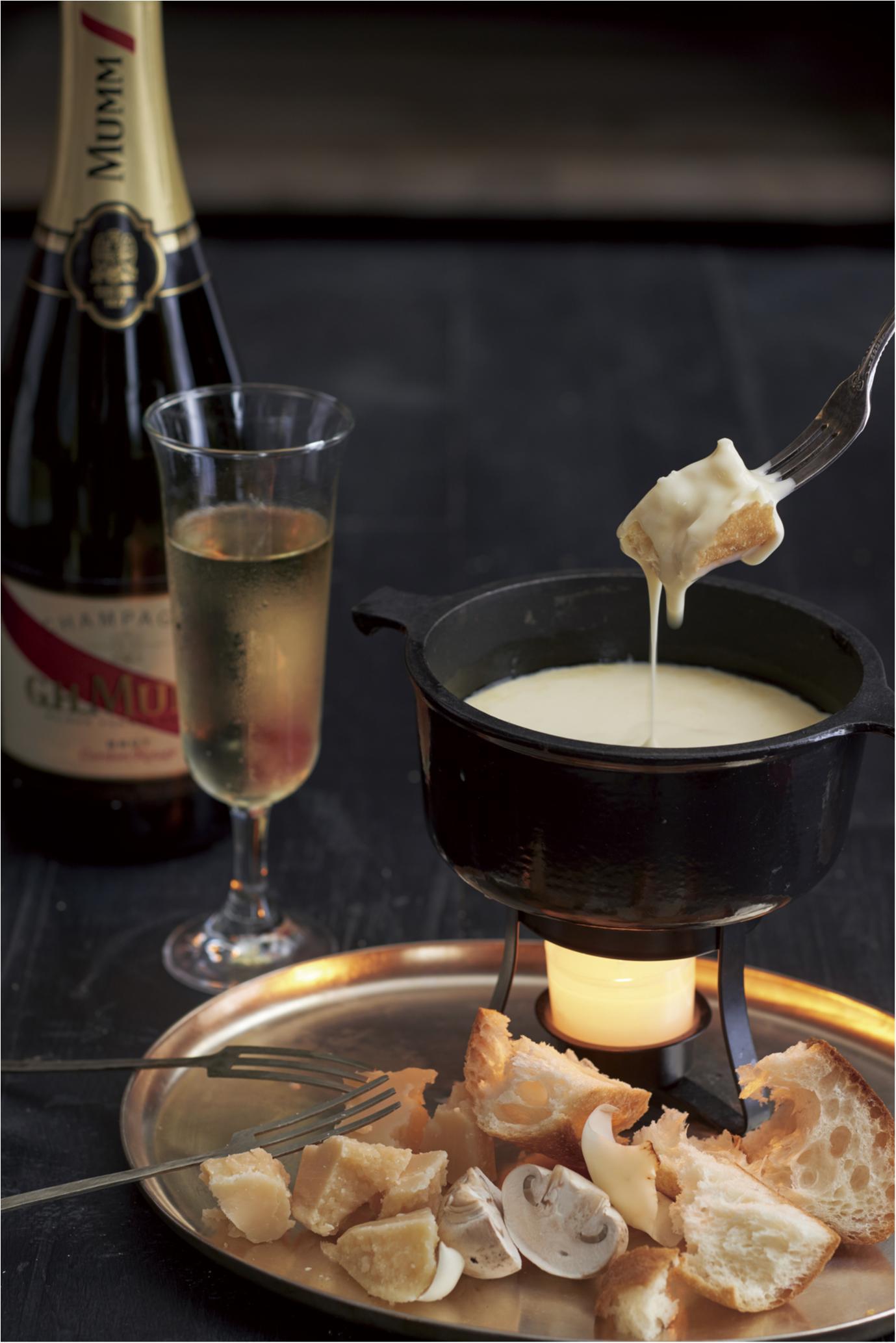 今週末は『キハチ』のテラスでチーズ&オイルフォンデュ♡ シャンパンも飲み放題!_1
