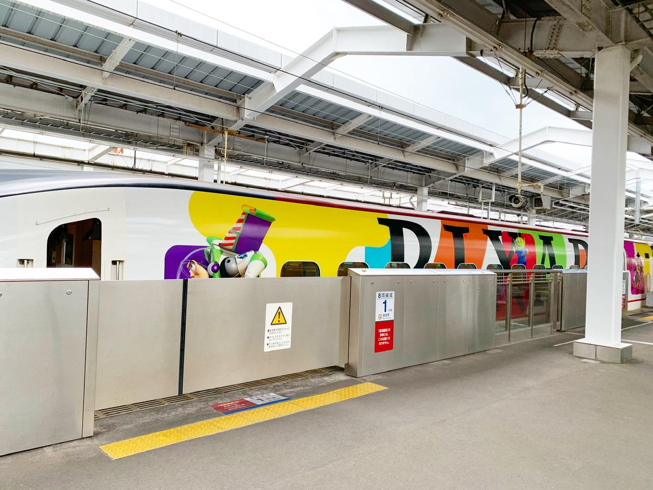 【JR九州】ピクサー新幹線が期間限定で登場!トイ•ストーリー25周年記念♡乗車レポ♡_3