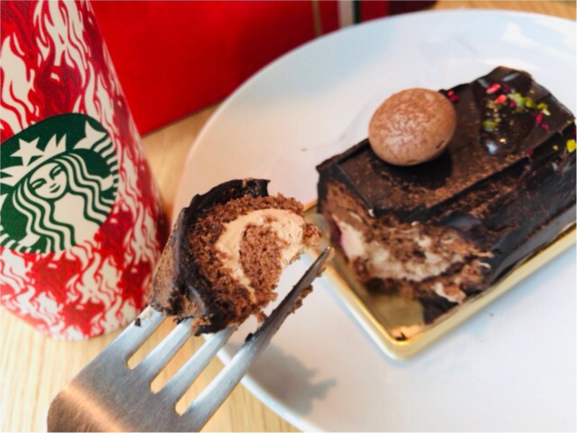 【スタバ】絶対食べて!新作クリスマスフード《ブッシュドノエル》が可愛すぎる♡_3