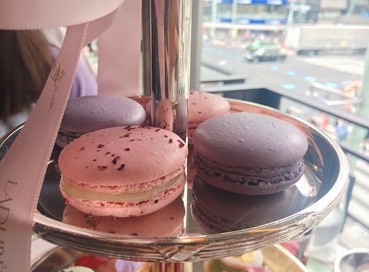 【期間限定】ポンパドゥール夫人と優雅な午後を♡LADUREEのアフタヌーンティー@銀座_4