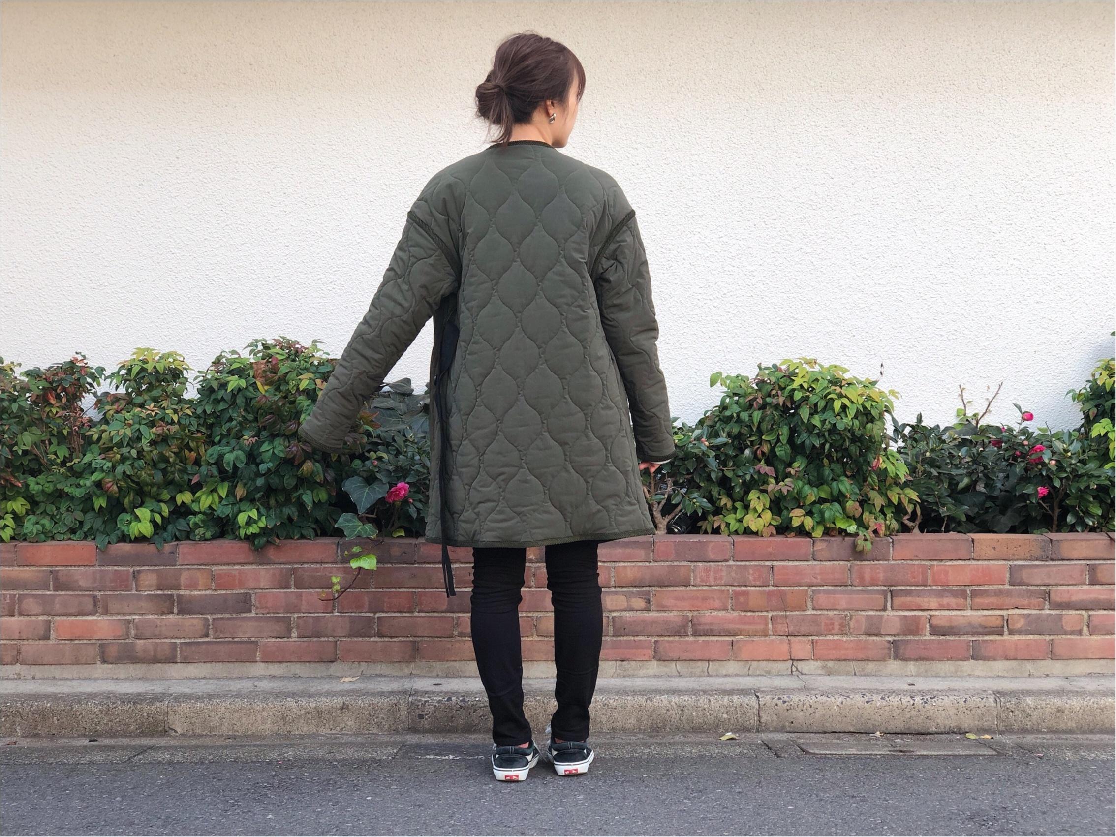 《STUDIOUS×田中亜希子さん》可愛すぎるコラボ商品が思った以上にあったかすぎる!この冬ヘビロテ決定の上着とボトム!_5