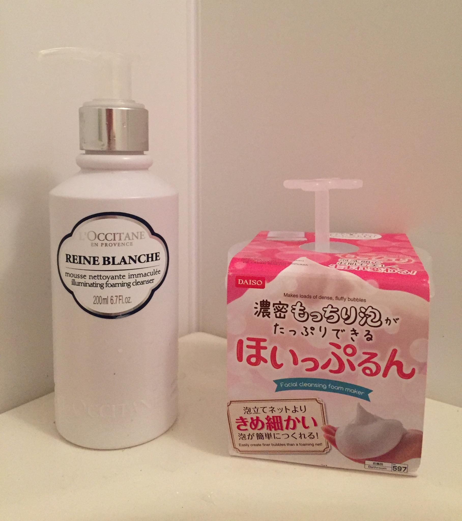 まるでCMみたい!!100円でホイップクリームみたいな洗顔泡がつくれる♡_1