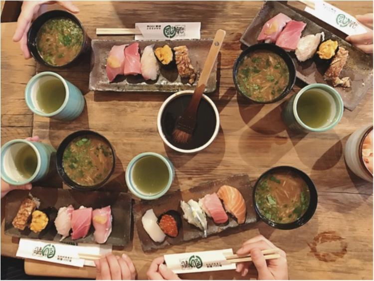中央卸売市場の行列ができるお寿司屋さんで、朝カフェならぬ《朝寿司》してきました!_6