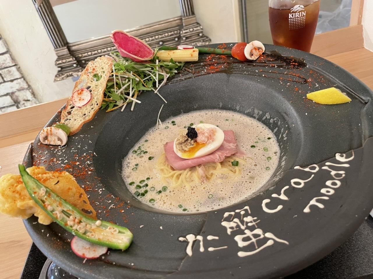 【神戸・北野】一度食べてみたい!贅沢なカニ蟹ラーメン〜トリュフ仕立て〜_1