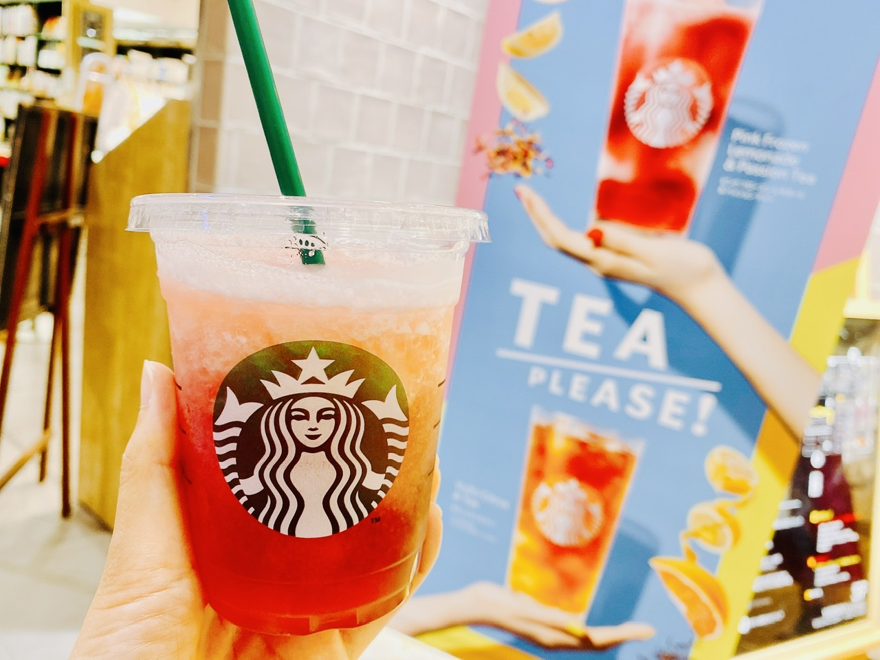 【スタバ新作】驚異の低カロリー!夏感満載《ピンク フローズン レモネード》は絶対飲んで♡_3