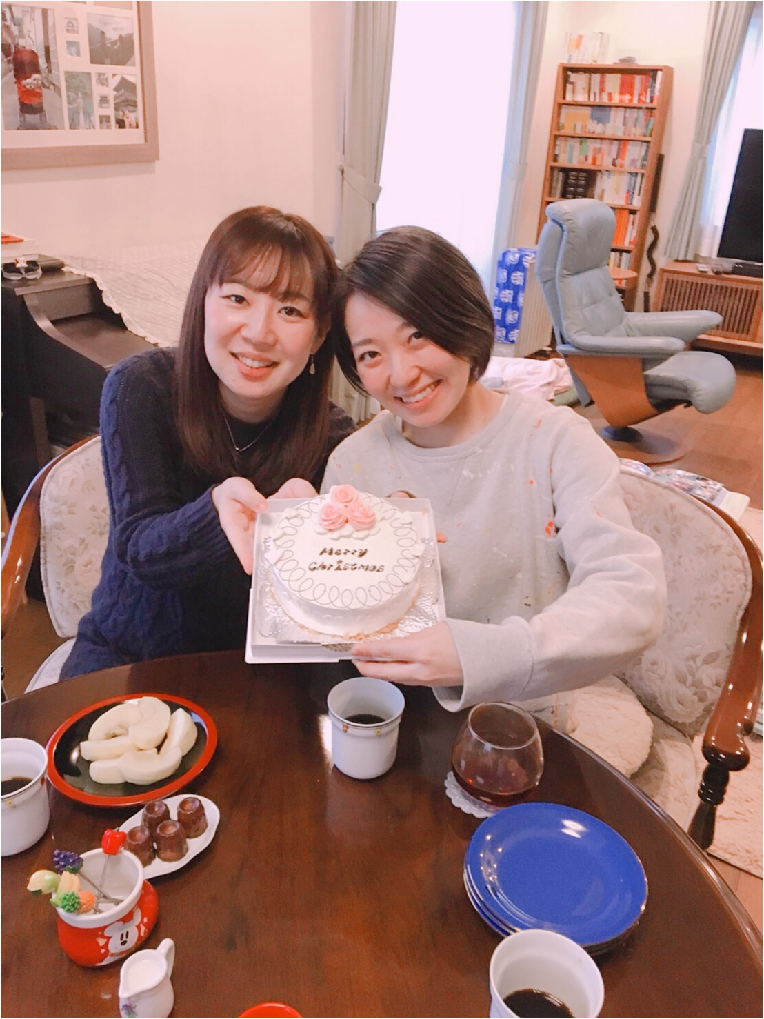 有休の使い方のご提案。一足早いクリスマスパーティーを★ケーキは成城アルプスの名物、バターケーキ!_8