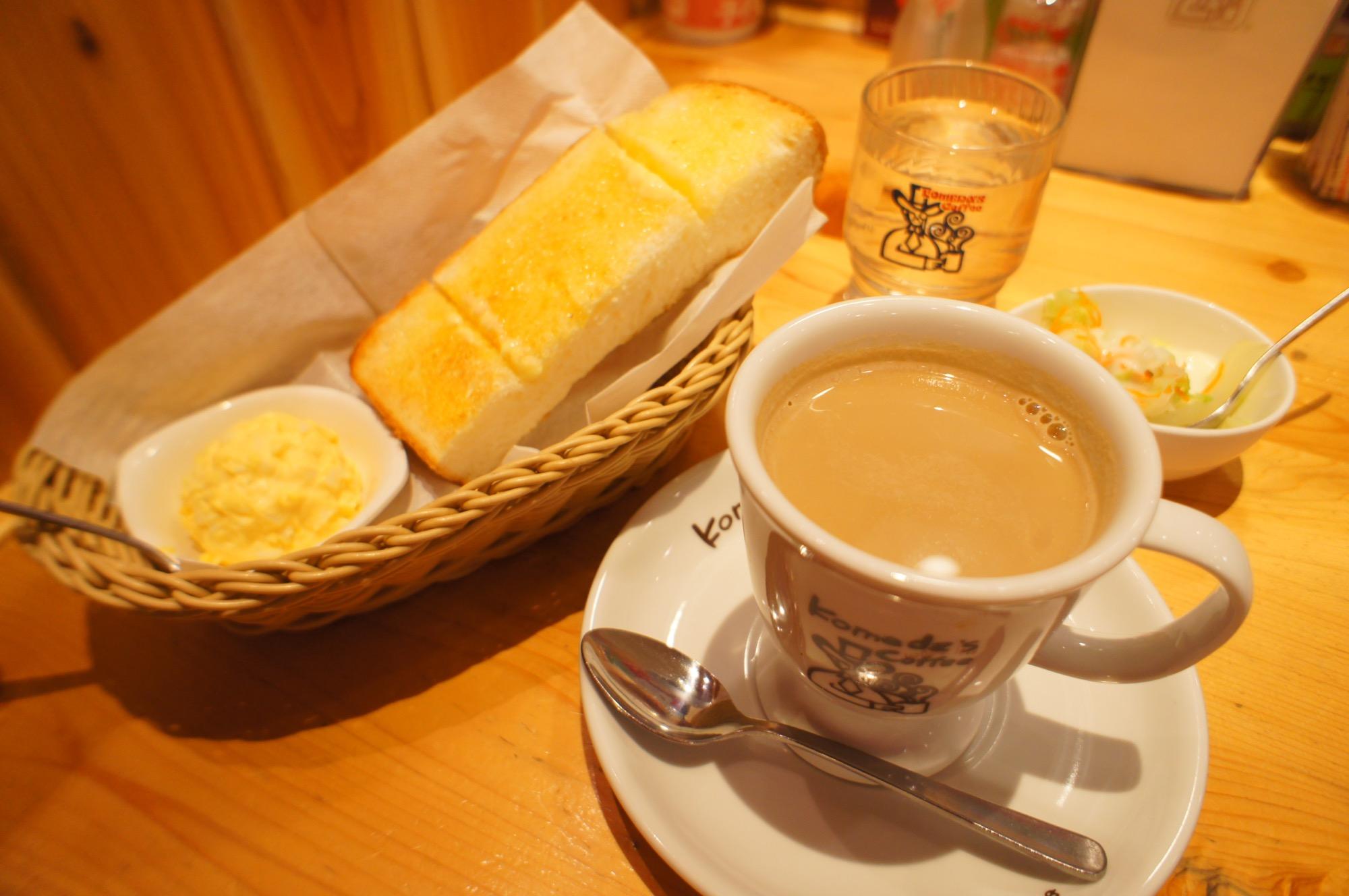 《ドリンク代だけでトースト付き❤️》【コメダ珈琲】のモーニングがやっぱり美味しい☻_3