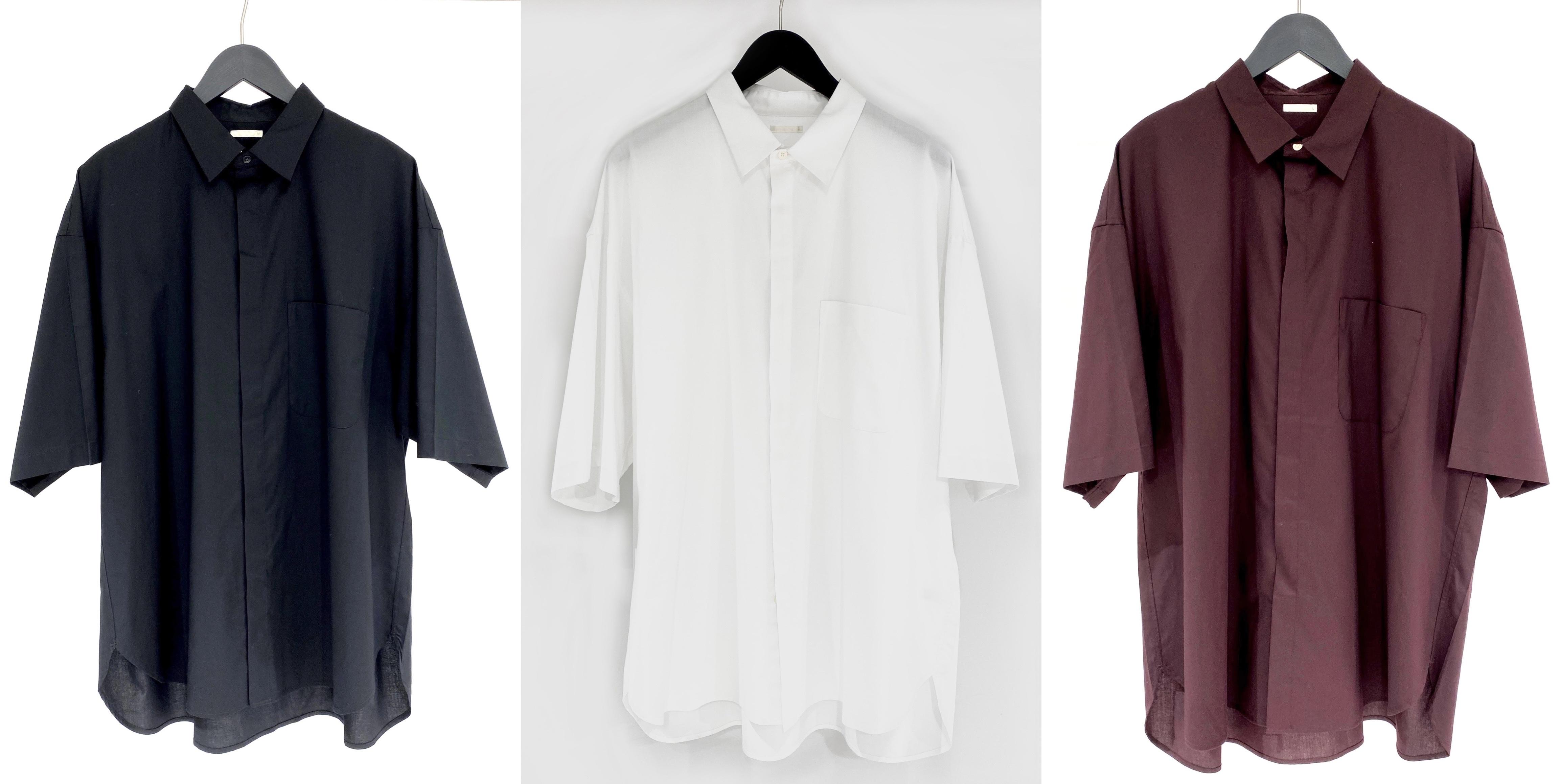 GUのイージーケアオーバーサイズシャツのカラバリ