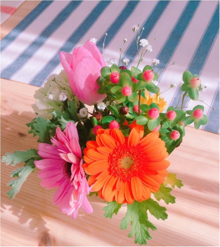 《花のある暮らし♡》春に向けてお家にお花を置いてみませんか♡?_3