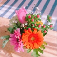 《花のある暮らし♡》春に向けてお家にお花を置いてみませんか♡?