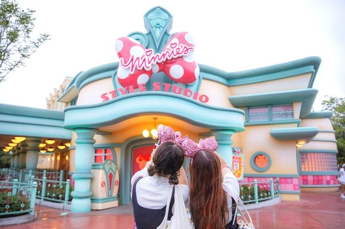 『東京ディズニーランド』初! ミニーマウスに会えるグリーティング施設「ミニーのスタイルスタジオ」が可愛すぎる件♡ _1