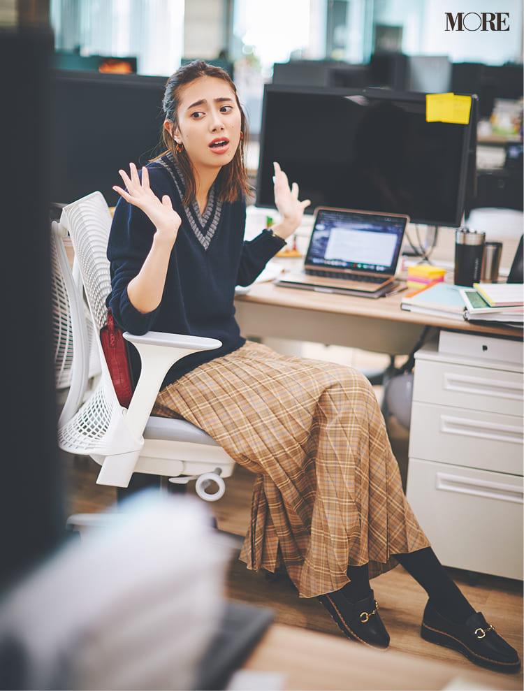 【2020】冬のオフィスカジュアル特集 - ユニクロなど20代女性におすすめの人気ブランドの最新コーデまとめ_69