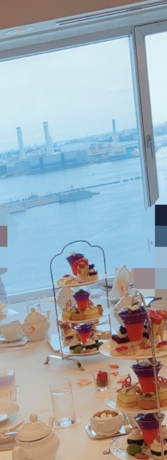 【30Fの贅沢個室アフタヌーンティー♪】ヨコハマグランドインターコンチネンタル_6